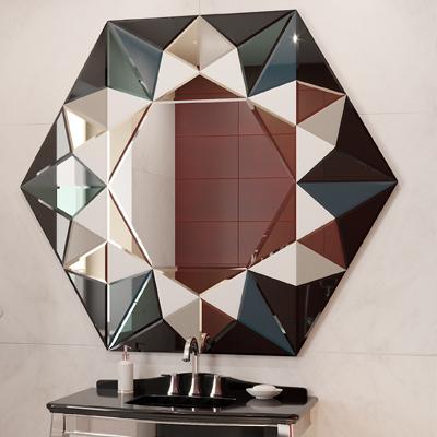 Зеркальное панно 1524х1320
