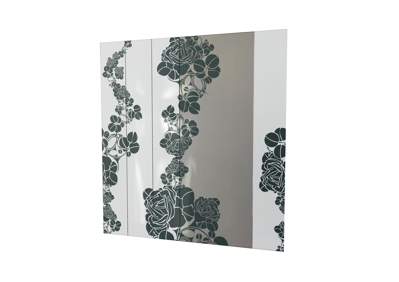 Панно зеркальное наборное с рисунком 1300х1400 мм
